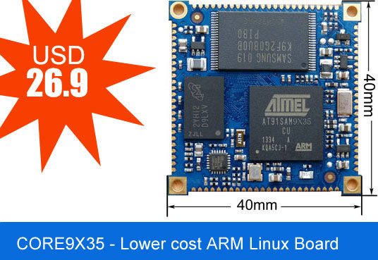 Low Cost Linux Embedded Smd Module Corewind Technology